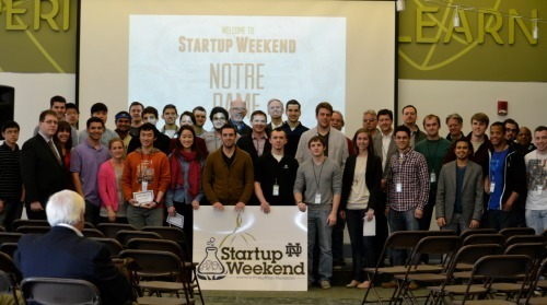 The Startup Weekend Crew - Image Credit Alysha Thomas