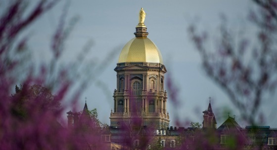 University of Notre Dame Golden Dome