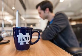 Photo of Notre Dame Coffee Mug