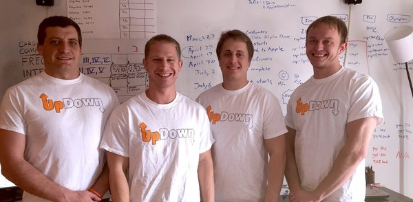 The UpDown Team with ESTEEM Alum, Chris Freise, second from right
