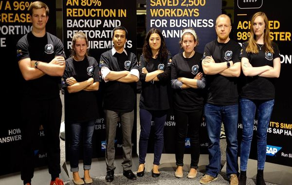 The ESTEEM team at SAP TechEd