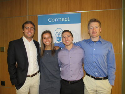 ESTEEM students Thor Nagel, Kerry Egan, Nic Zenker, and Thomas Cotter have joined the IDEA Center as Entrepreneurial Leads