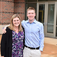 Holy Cross: Melissa Connolly and Thomas Cotter