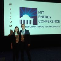 Valeria and Austin at MIT