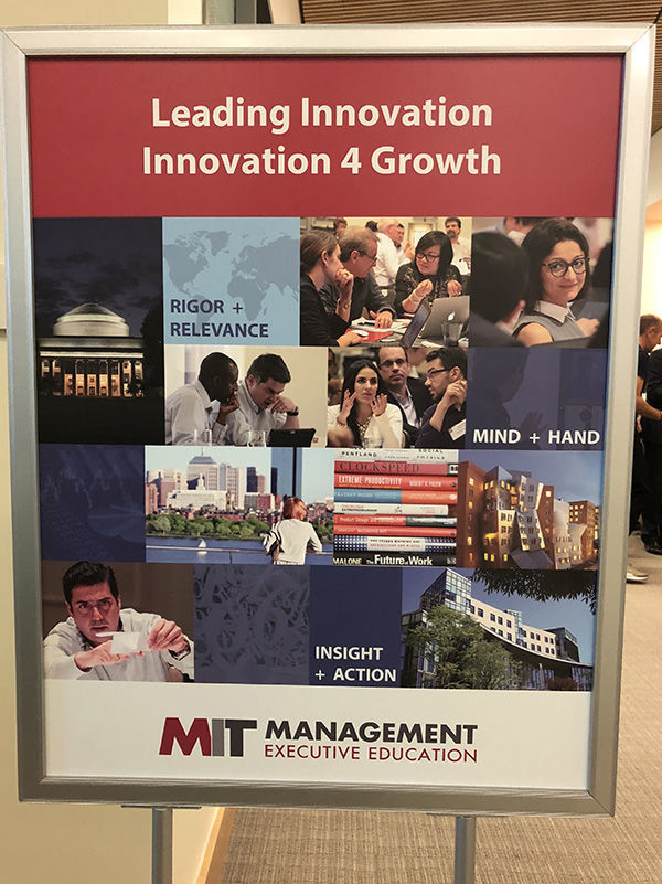 Poster for MIT Program
