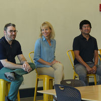 Matt Rogers, Amy Honjo, Shige Hongo, co-founders of Nest