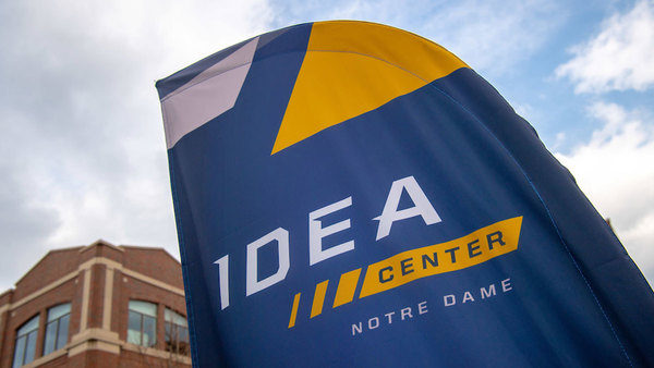 The IDEA Center is housed in Innovation Park on Notre Dame's campus.