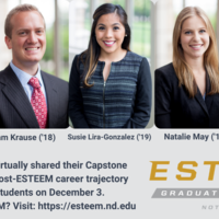 Capstone Panel with ESTEEM Alumni