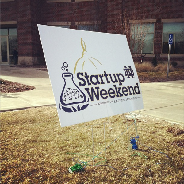 Startup Weekend Notre Dame